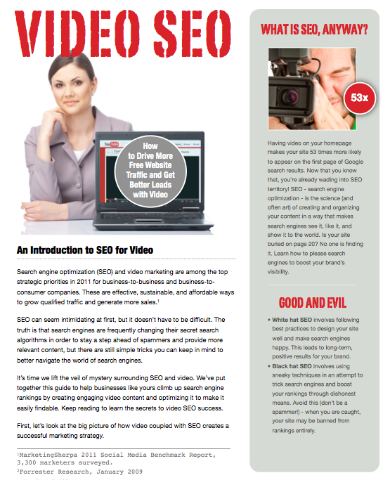seo de video o video marketing