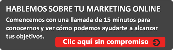Habllemos sobre tu marketing online
